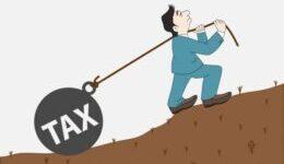 ¿Quiénes reciben la carga de los impuestos?